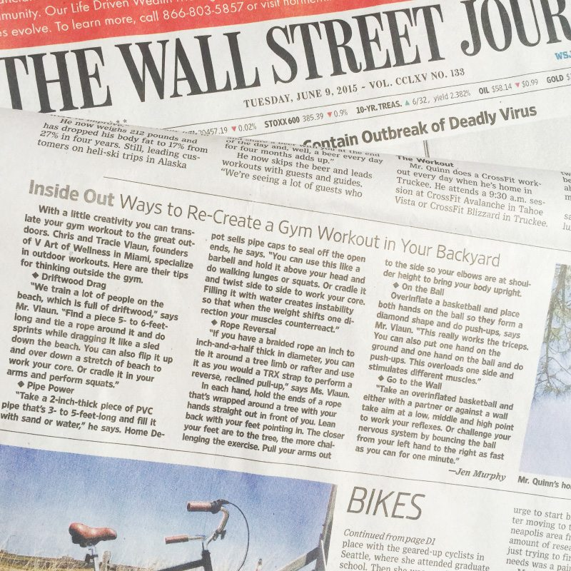 2nd Feature in the WSJ